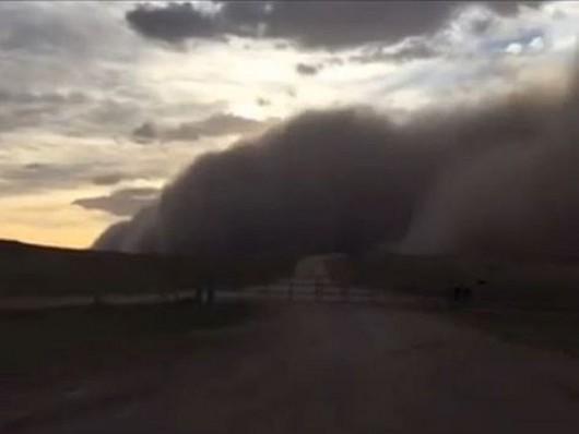 Burza piaskowa - Texhoma 4