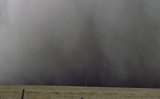 Burza piaskowa - Texhoma,