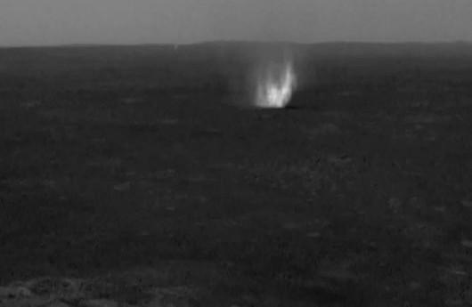 Diabeł pyłowy na Marsie 2