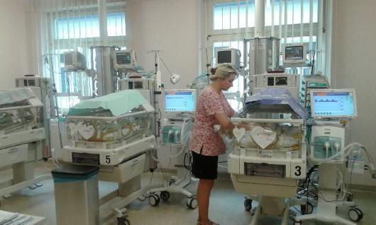Dziecko urodziło się 9 stycznia. Ważyło tysiąc gramów