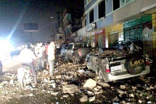 Ekwador - Duże zniszczenia po bardzo silnym trzęsieniu ziemi o magnitudzie 7.8 -1