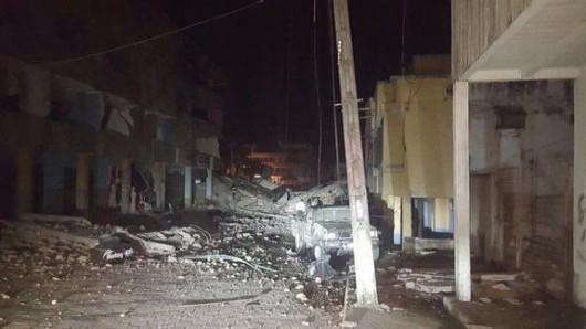 Ekwador - Duże zniszczenia po bardzo silnym trzęsieniu ziemi o magnitudzie 7.8 -3
