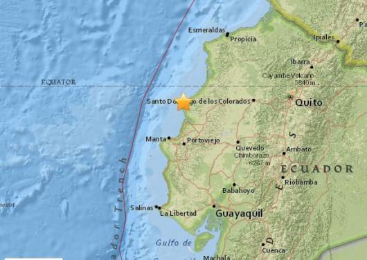 Ekwador - Duże zniszczenia po bardzo silnym trzęsieniu ziemi o magnitudzie 7.8 -6