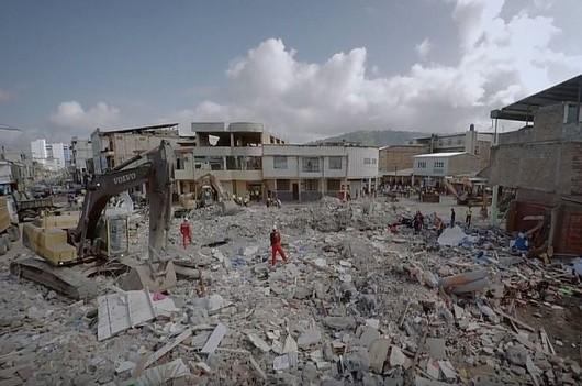 Ekwador po trzęsieniu ziemi