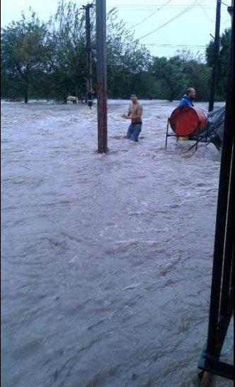 Entre Rios, Argentyna - Ulewne deszcze doprowadziły do powodzi -1