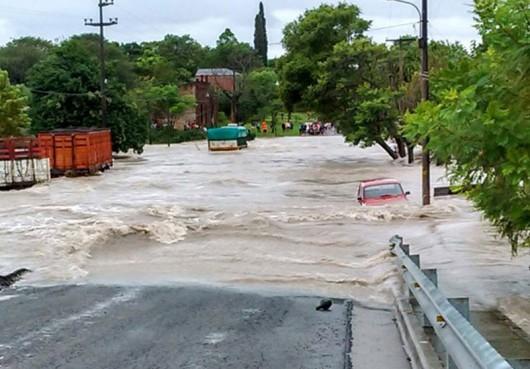 Entre Rios, Argentyna - Ulewne deszcze doprowadziły do powodzi -2