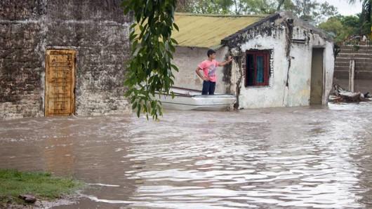 Entre Rios, Argentyna - Ulewne deszcze doprowadziły do powodzi -3