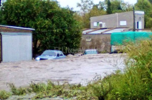 Entre Rios, Argentyna - Ulewne deszcze doprowadziły do powodzi -5