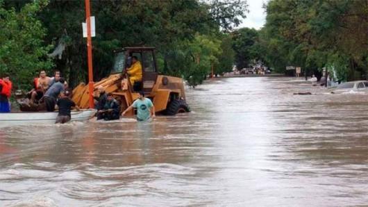 Entre Rios, Argentyna - Ulewne deszcze doprowadziły do powodzi -6