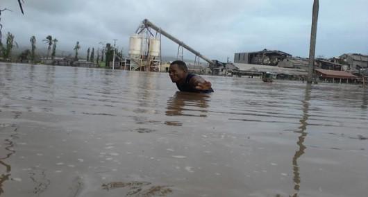 Fidżi - Powódź z powodu ogromnych opadów deszczu -5