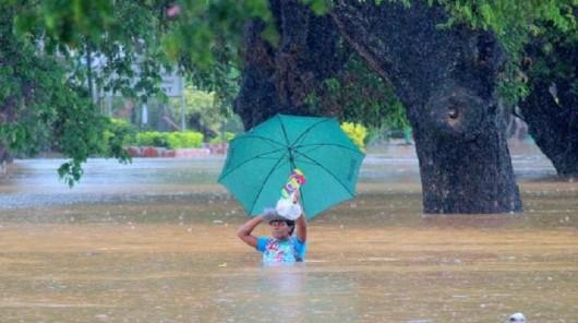 Fidżi - Powódź z powodu ogromnych opadów deszczu -6