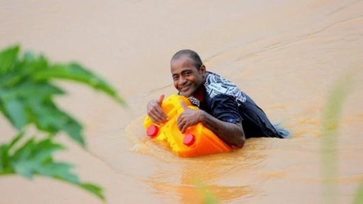 Fidżi - Powódź z powodu ogromnych opadów deszczu -7