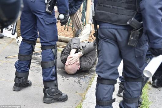 Francja - Ogromne protesty przeciwko reformie prawa pracy -4