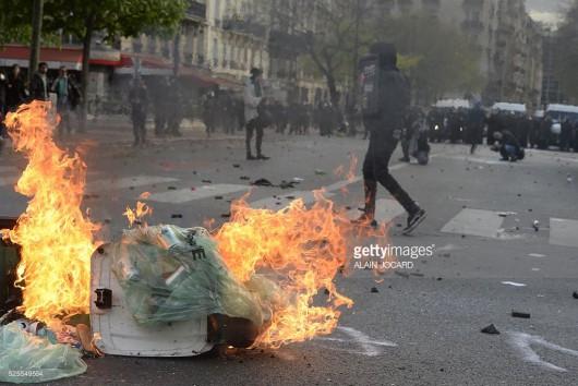 Francja - Ogromne protesty przeciwko reformie prawa pracy -6