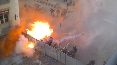 Francja - Ogromne protesty przeciwko reformie prawa pracy -7