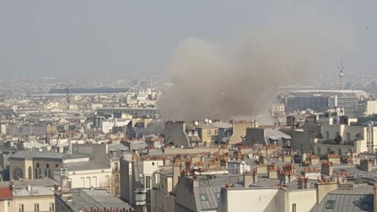 Francja - Potężna eksplozja w Paryżu zniszczyła część budynku -2