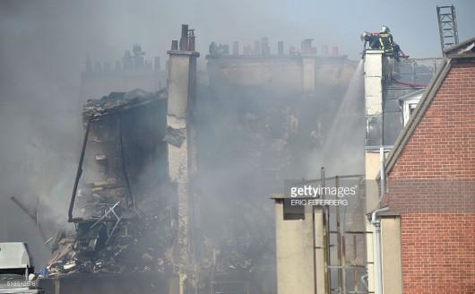 Francja - Potężna eksplozja w Paryżu zniszczyła część budynku -5