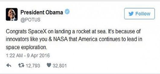 Gratulacje prezydenta Obamy