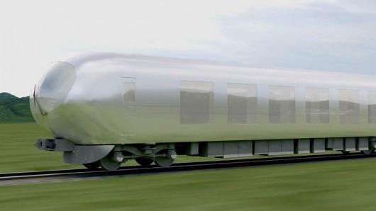 Japończycy za dwa lata będą mieli pociąg, który wtopi się w otoczenie