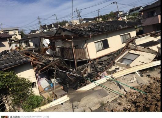 Japonia - Ilość ofiar śmiertelnych trzęsień ziemi wzrosła do 41, wiele osób jest uwięzionych pod gruzami -12