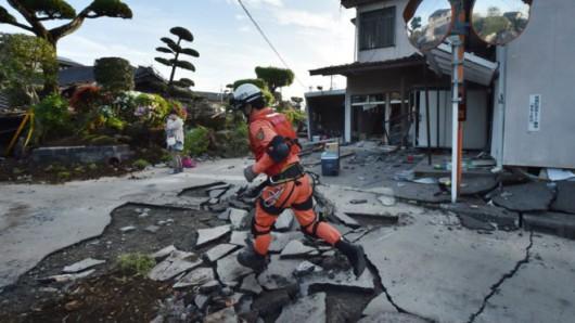 Japonia - Ilość ofiar śmiertelnych trzęsień ziemi wzrosła do 41, wiele osób jest uwięzionych pod gruzami -2