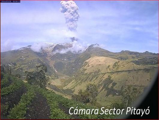 Nevado del Ruiz zdjęcia z kamer 5