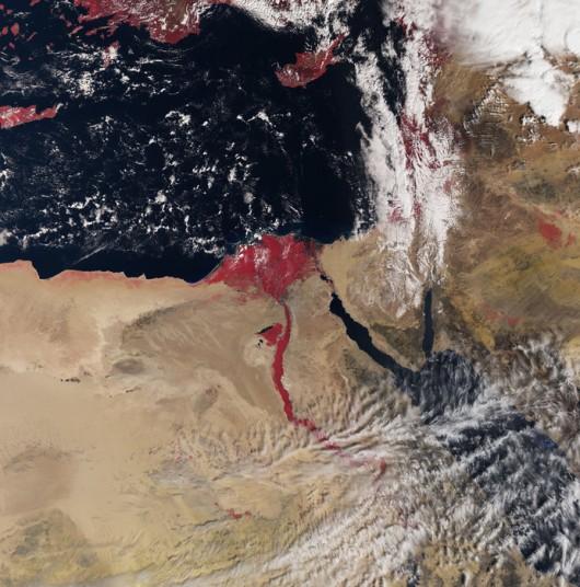 Nowy satelita Sentinel 3A niedawno zaczął dostarczać dane z orbity. To bardzo wczesny obraz nagrany w dniu 3 marca 2016 r
