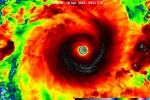 Ocean Indyjski - Olbrzymi huragan Fantala zahaczy o Madagaskar -4