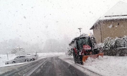 Ogromne śnieżyce w Austrii, dziesiątki tysięcy domów bez prądu -6
