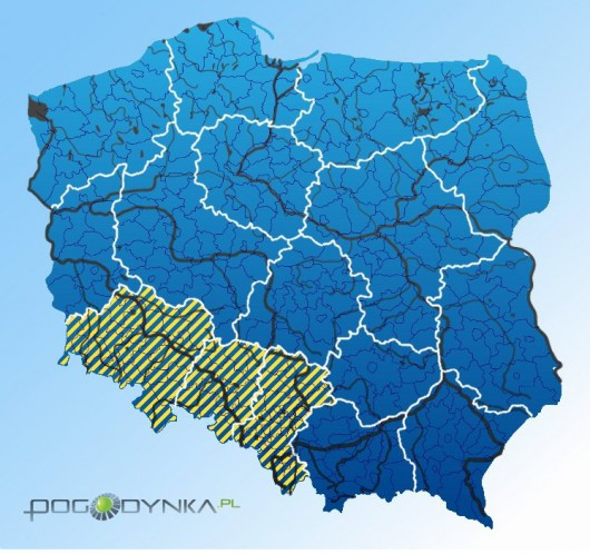 Ostrzeżenia hydrologiczne, Źródło: IMGW-PIB