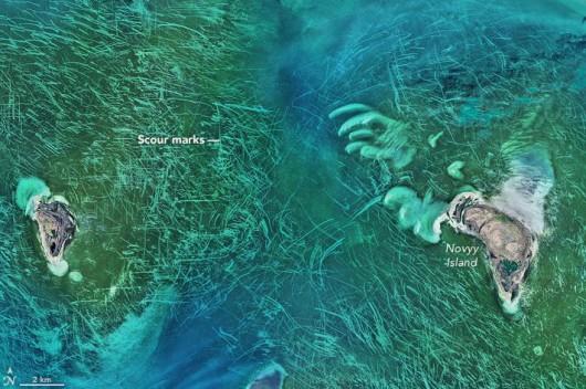 Północny rejon Morza Kaspijskiego 16.04.2016