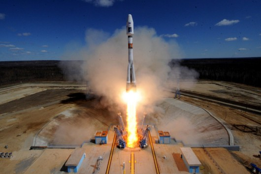 Russia launches satellites into space from new Vostochny cosmodome