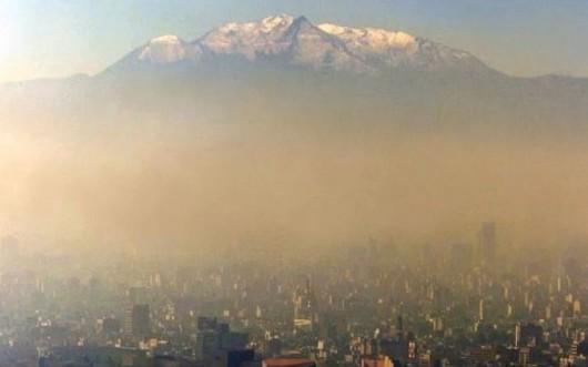 Smog nad Meksykiem