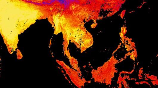 Tajlandia i Kambodża - Padły rekordy temperatur, jeszcze nigdy nie było takich upałów
