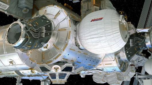Tak moduł BEAM ma wyglądać po nadmuchaniu /Bigelow Aerospace /materiały prasowe