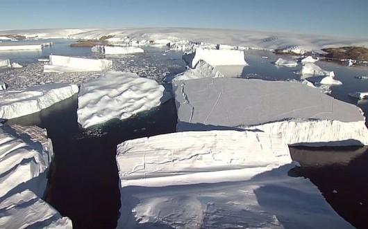 Topnieją lody na Antarktydzie