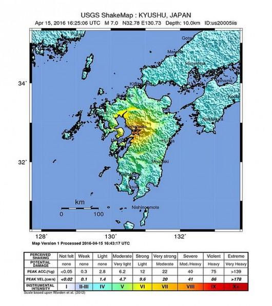 Trzęsienie ziemi w Japonii 1
