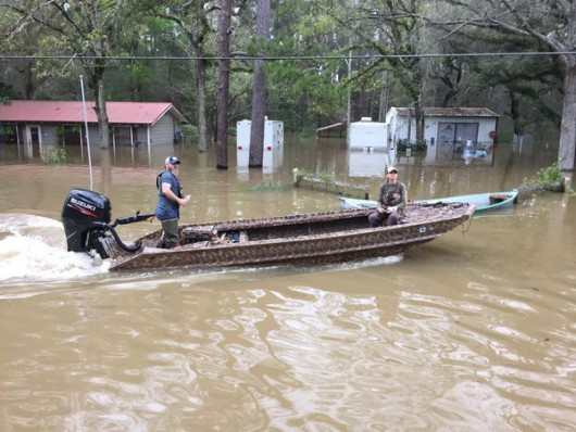 Flooding has damaged more than 2,500 homes in parishes throughout Louisiana.