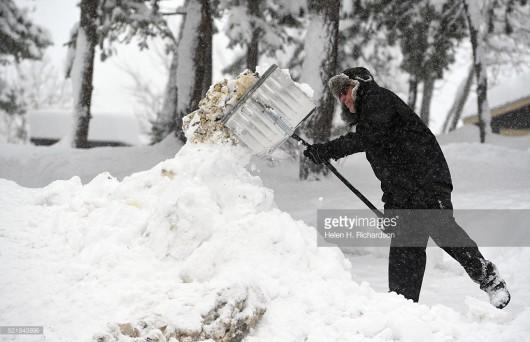 USA - Ogromne śnieżyce w Kolorado -1