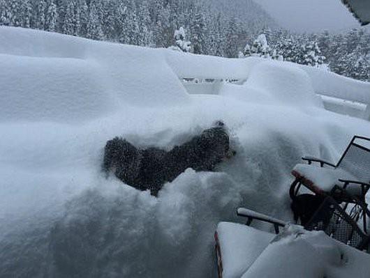 USA - Ogromne śnieżyce w Kolorado -3