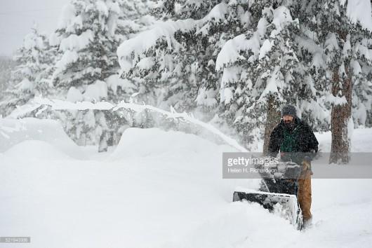 USA - Ogromne śnieżyce w Kolorado -4