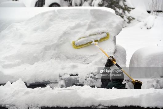 USA - Ogromne śnieżyce w Kolorado -5