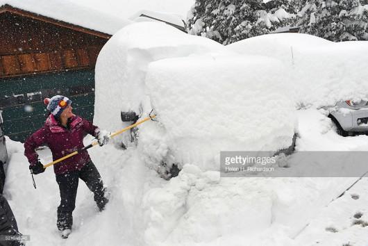 USA - Ogromne śnieżyce w Kolorado -6