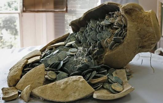 Wielki skarb pod Sewillą. Archeolodzy odnaleźli 600 kg monet rzymskich (fot. Jose Manuel Vidal FORUM