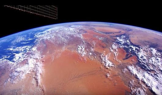 Ziemia widziana ze stacji ISS