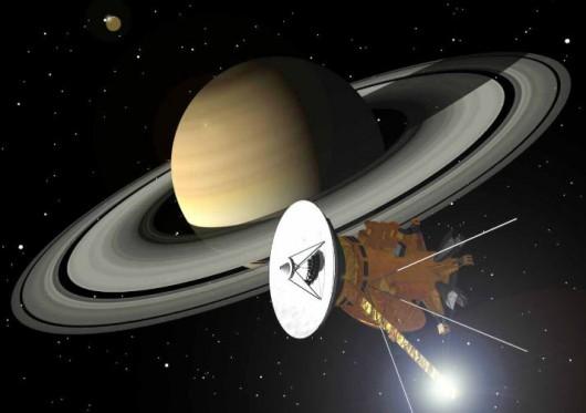 Zbliża się koniec misji sondy Cassini