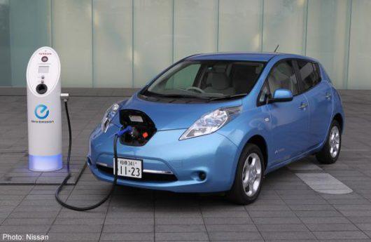 Ładowanie samochodu elektrycznego -2