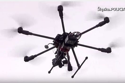 Śląska policja testuje drony 4