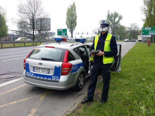 Śląska policja testuje drony