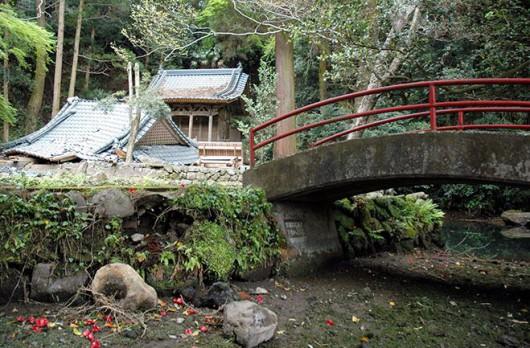 Źródło Shioisha wyschło po trzęsieniu ziemi